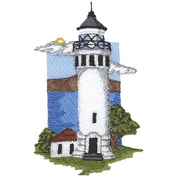 Point Vicente embroidery design