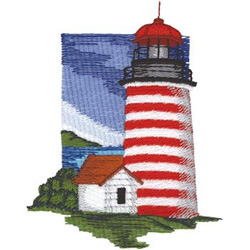 West Quoddy embroidery design