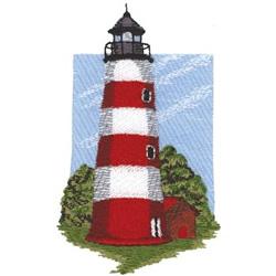 Sapelo Island embroidery design