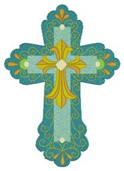 Cross In A Cross embroidery design