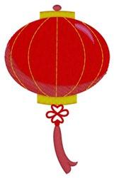 Oriental Lantern embroidery design