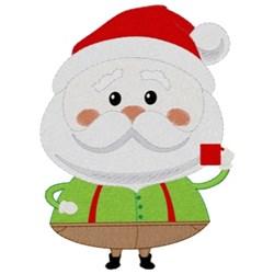 Santa embroidery design
