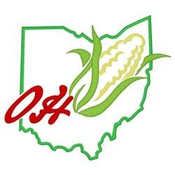 Ohio embroidery design