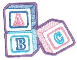 Baby Blocks Outline Embroidery Designs, Machine Embroidery ...