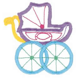 Baby buggy outline embroidery designs machine embroidery designs at embroiderydesigns com
