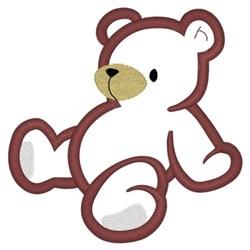 Teddy Bear Applique embroidery design