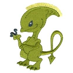 Fringe Alien embroidery design