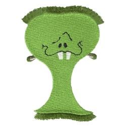 Fringe Hair Monster embroidery design