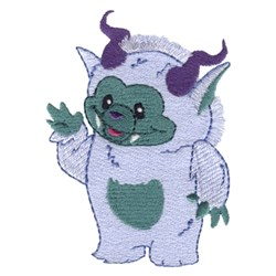 Fringe Yeti embroidery design