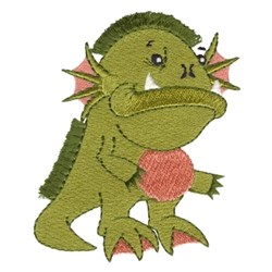 Fringe Swamp Monster embroidery design