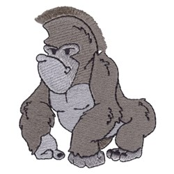 Fringe Gorilla embroidery design