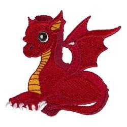 Fringe Dragon embroidery design