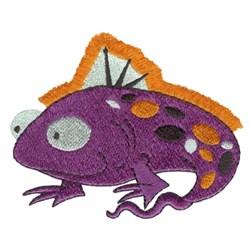 Fringe Fish embroidery design