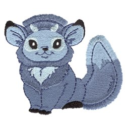 Fringe Little Creature embroidery design