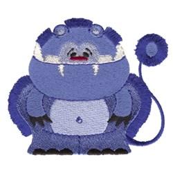 Fringe Teddy Monster embroidery design