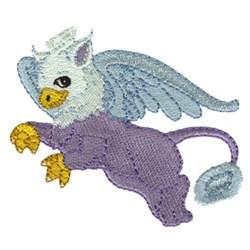 Fringe Griffin embroidery design
