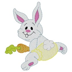 Baby Bunny embroidery design