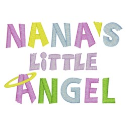 Nanas Little Angel embroidery design