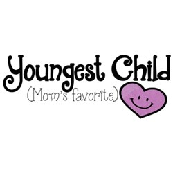 Youngest Child embroidery design