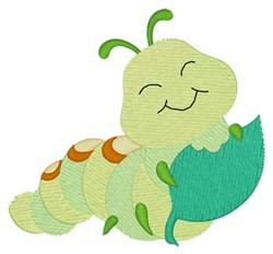 Hungry Caterpillar embroidery design