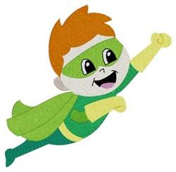 Superhero Boy embroidery design