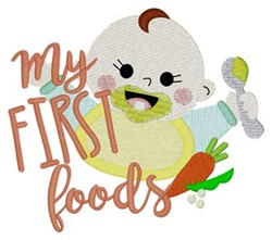 My First Foods embroidery design
