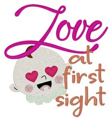 Love At First Sight embroidery design