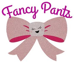 Fancy Pants embroidery design