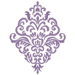 Damask Pattern embroidery design