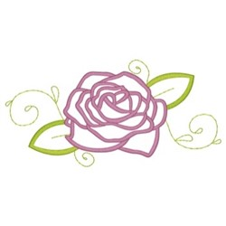 Rose Border embroidery design