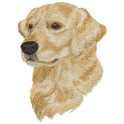 Golden Retriever embroidery design