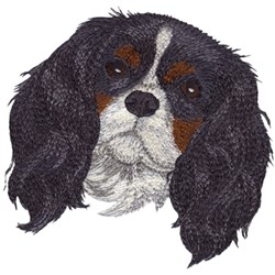 Cavalier King Charles Spaniel embroidery design