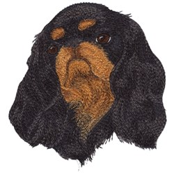King Charles Spaniel embroidery design