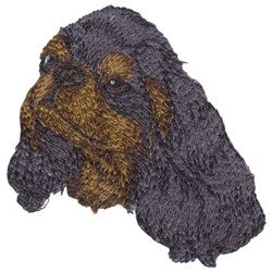 Small EnglishToy Spaniel embroidery design