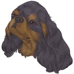 English Toy Spaniel embroidery design