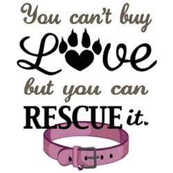 Pet Rescue embroidery design