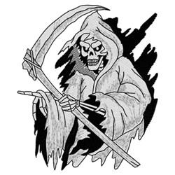 Grimm Reaper embroidery design