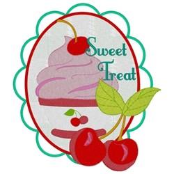 Cherry Ice Cream embroidery design