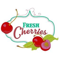 Fresh Cherries embroidery design