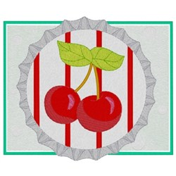 Cherry Pop Top embroidery design