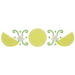 Lemon Border embroidery design
