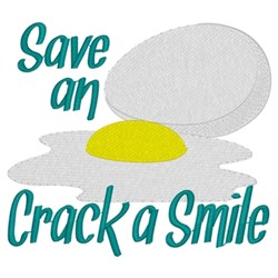 Save An Egg... embroidery design