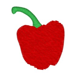 Pepper embroidery design