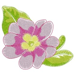 Primrose embroidery design