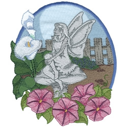 Garden Fairy Embroidery Designs Machine Embroidery
