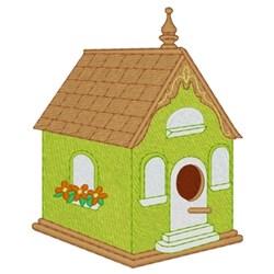 Victorian Birdhouse embroidery design