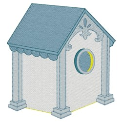 Fancy Birdhouse embroidery design