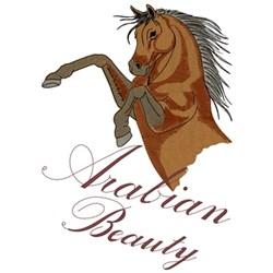 Arabian Beauty embroidery design
