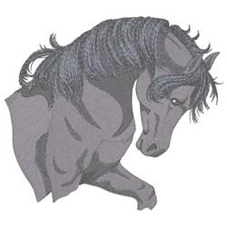 Black Arabian embroidery design