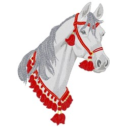 Arabian W/ Show Collar embroidery design